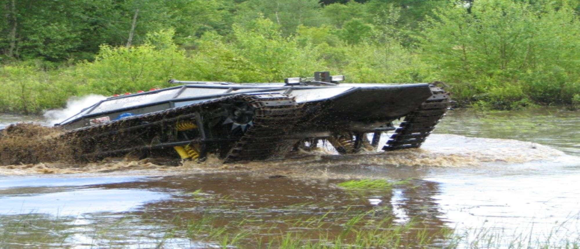 M5 in crossing water