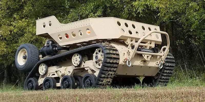 Small ground robotic vehicle