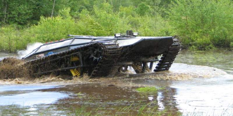 RIPSAW crossing water