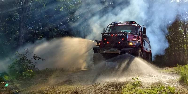 Big Dog Fire Truck